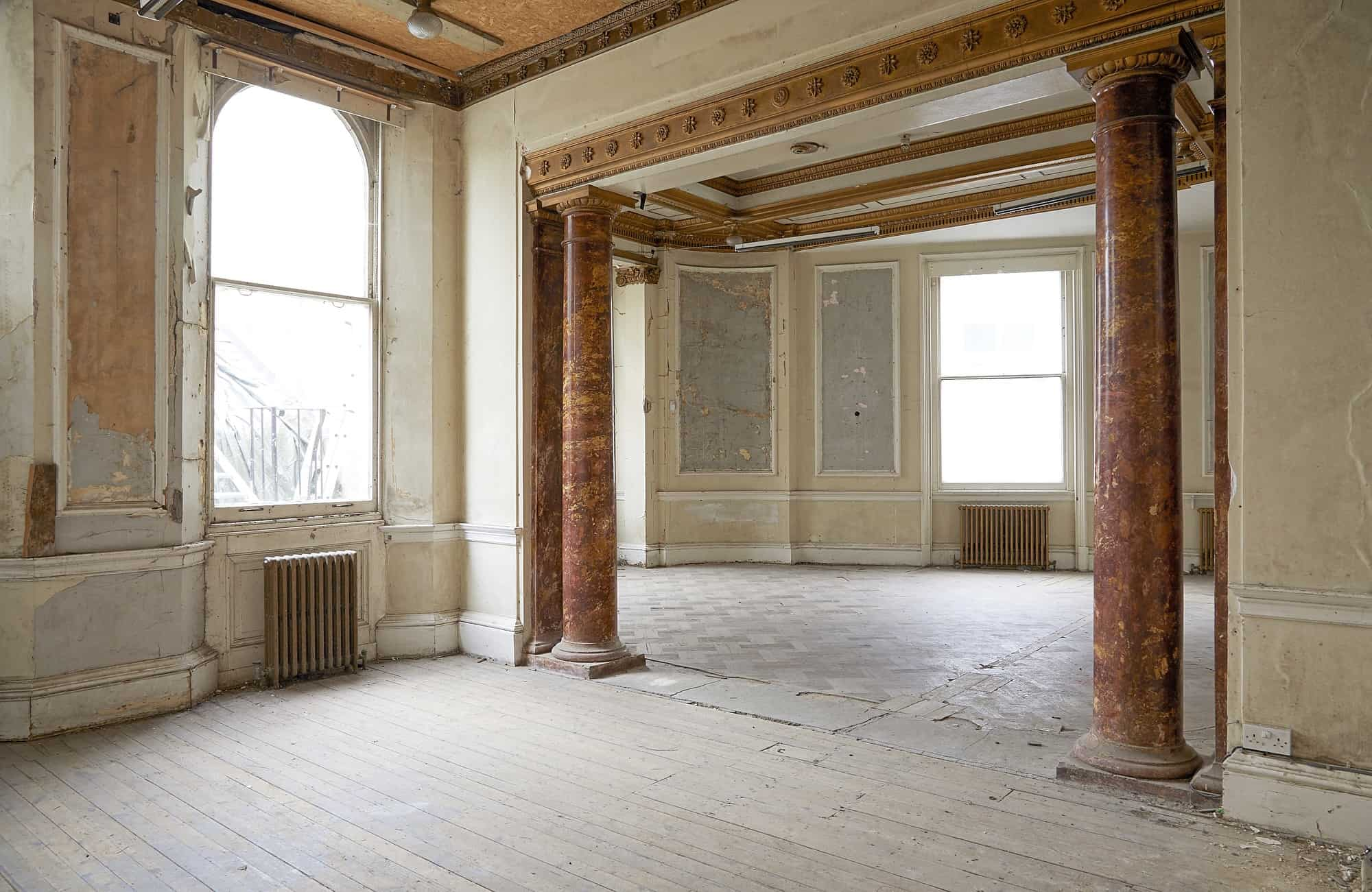 The Averard Hotel W2 - A palatial Grade II listed former hotel having fallen into a derelict state - The Location Guys