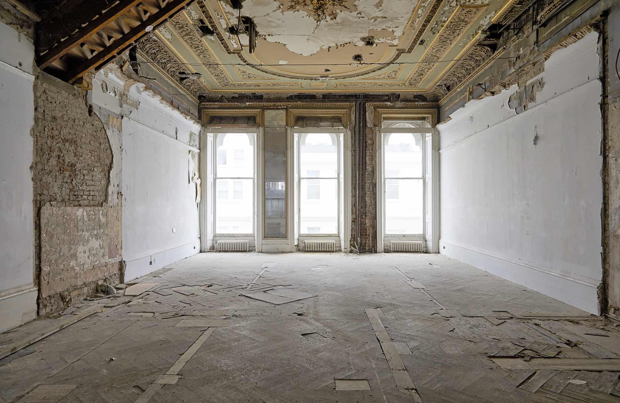 The Averard Hotel W2 - former hotel with derelict interiors - The Location Guys