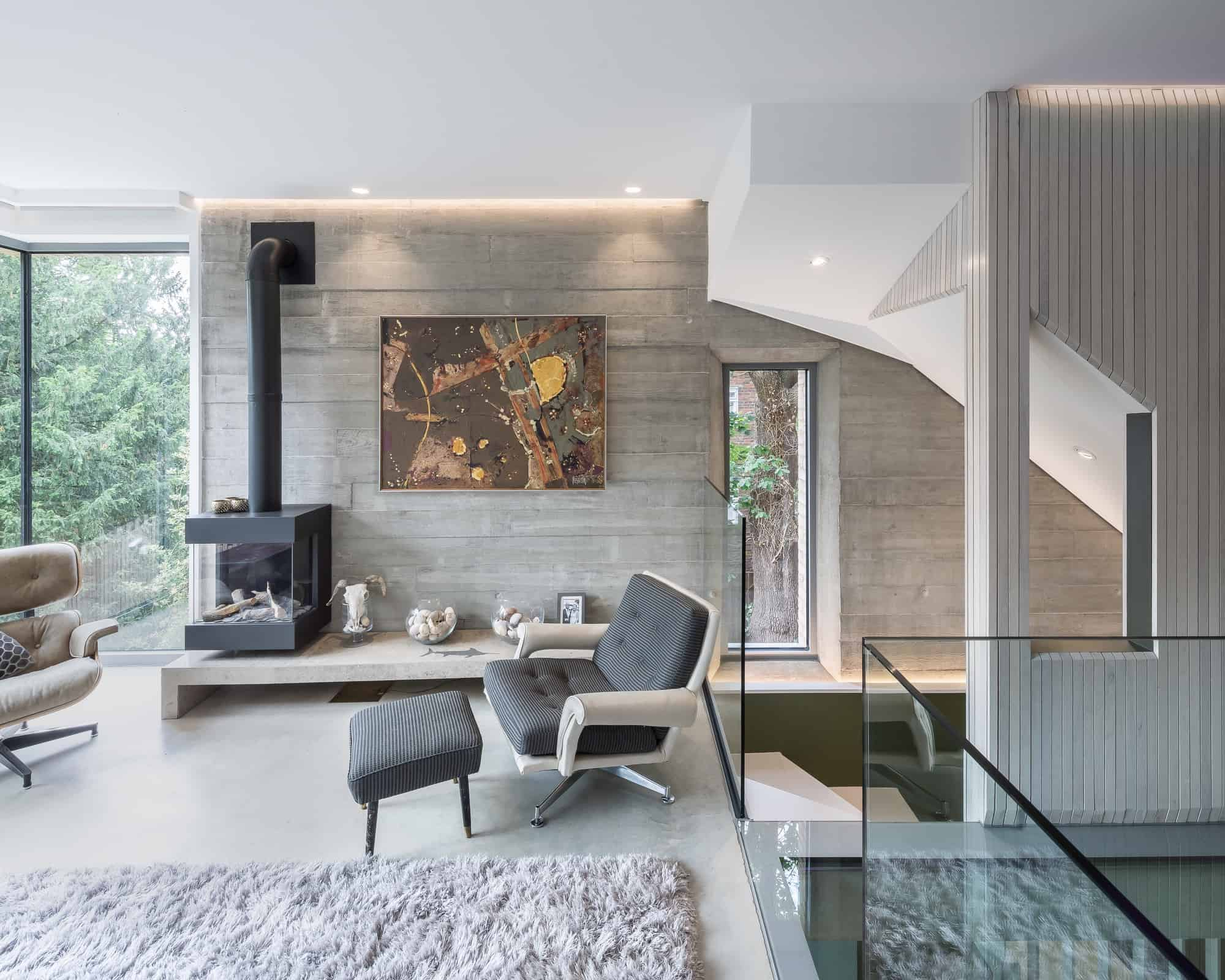 Treetops SE19 - Scandi style contemporary property arranged over five floors - The Location Guys