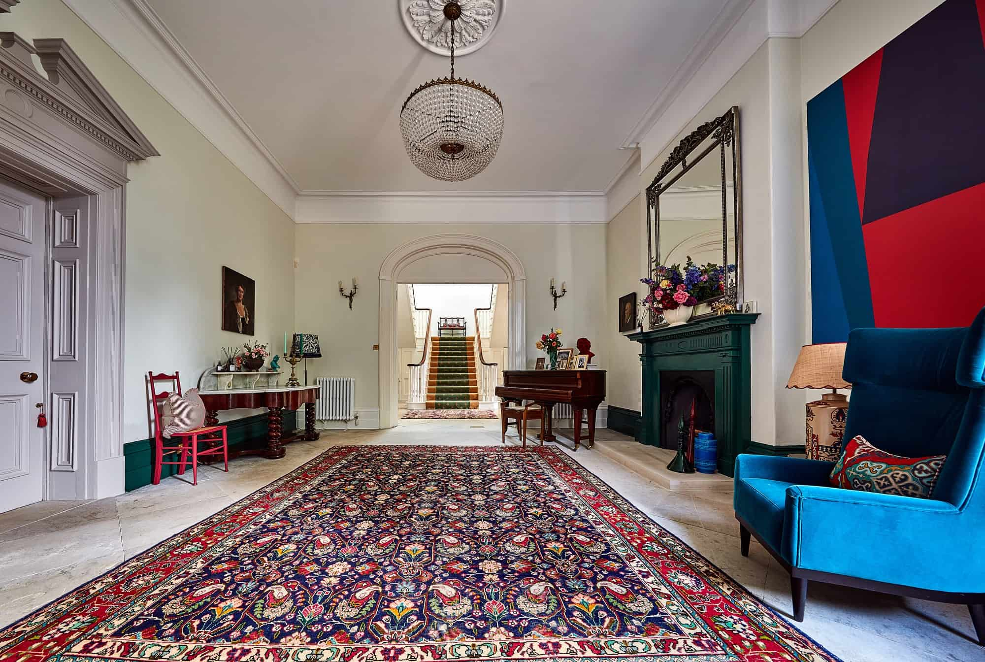 Humphrey Court LE8 - Classical Georgian Manor house with beautiful interiors - The Location Guys